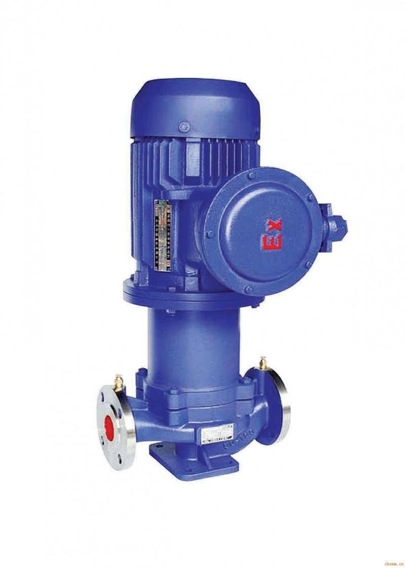 CQG型磁力转动管道离心泵