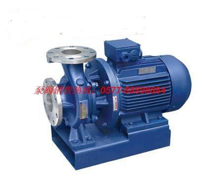 ISWH型卧式单级不锈钢管道增压泵