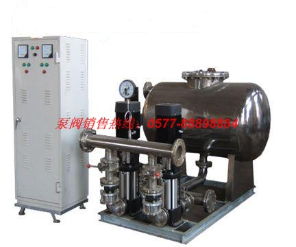 WG系列无负压变频供水设备