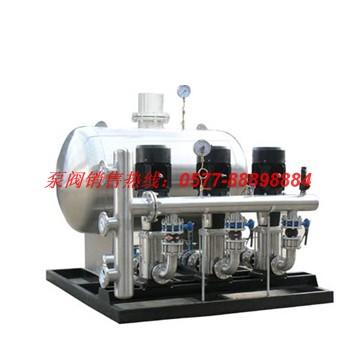 WH无负压管网增压稳流给水设备